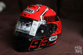 SHOEI X-Fourteen X-14 红蚂蚁开箱。。。